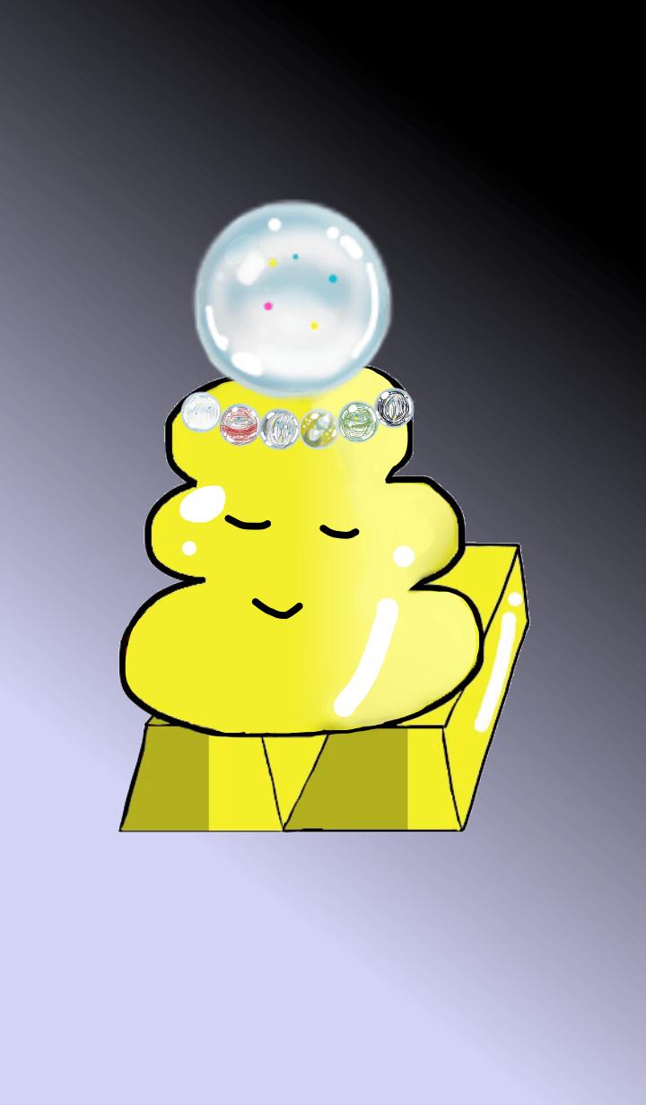 April birthstone crystal.Kin-unko.B1