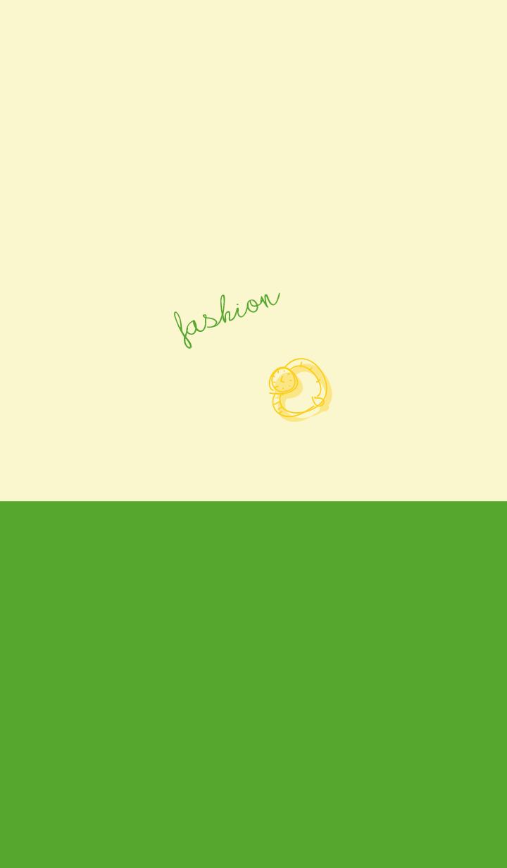 fashion lemon yellow