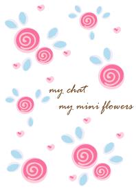 My chat my mini flowers 25
