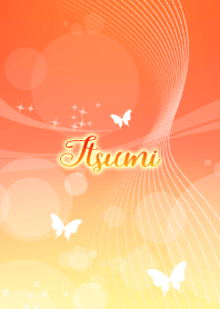 Itsumi butterfly theme