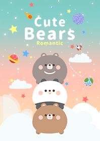 浩瀚宇宙 寶貝熊 浪漫漸層 2