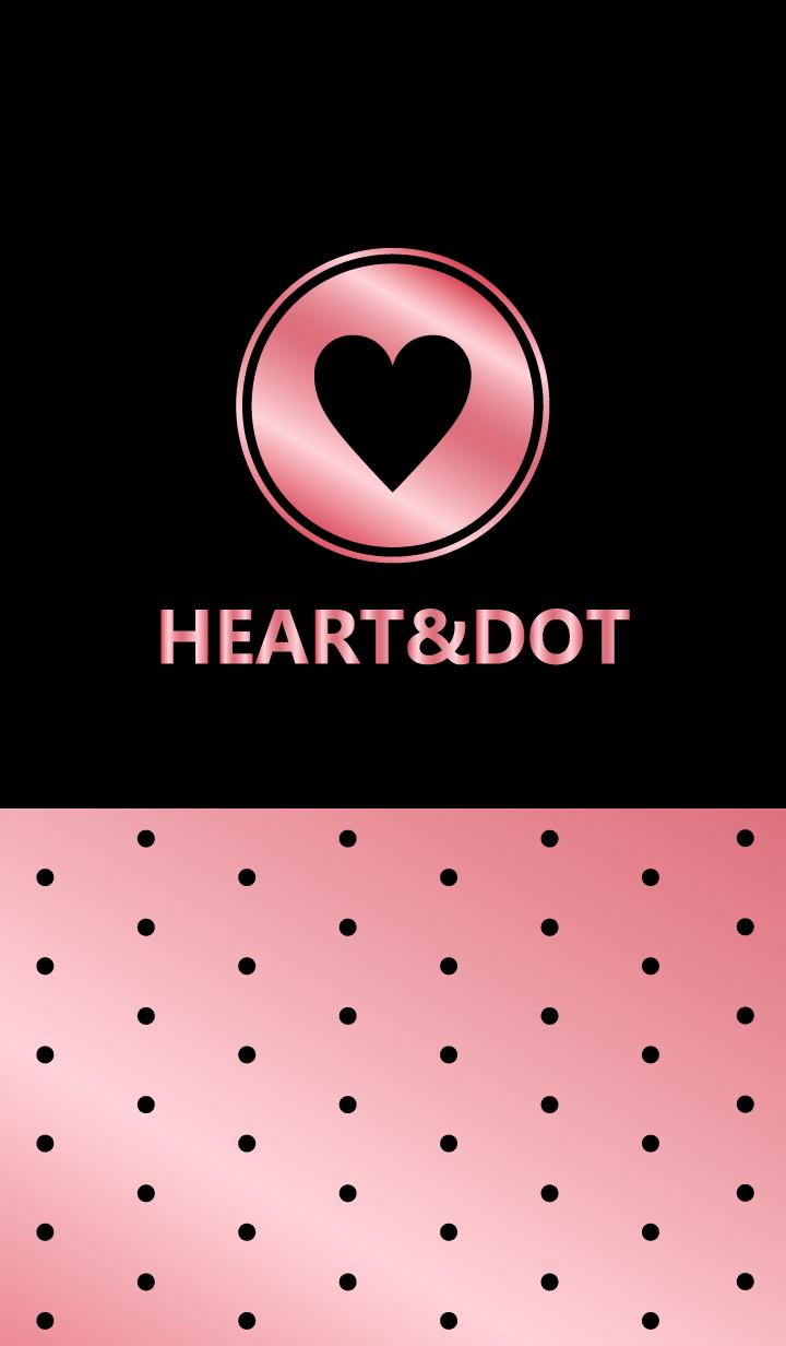HEART&DOT -METAL STRAWBERRY-