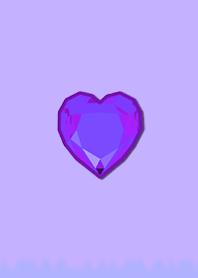 Simple Diamond Heart 102