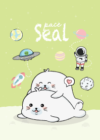 Seal cute Green.