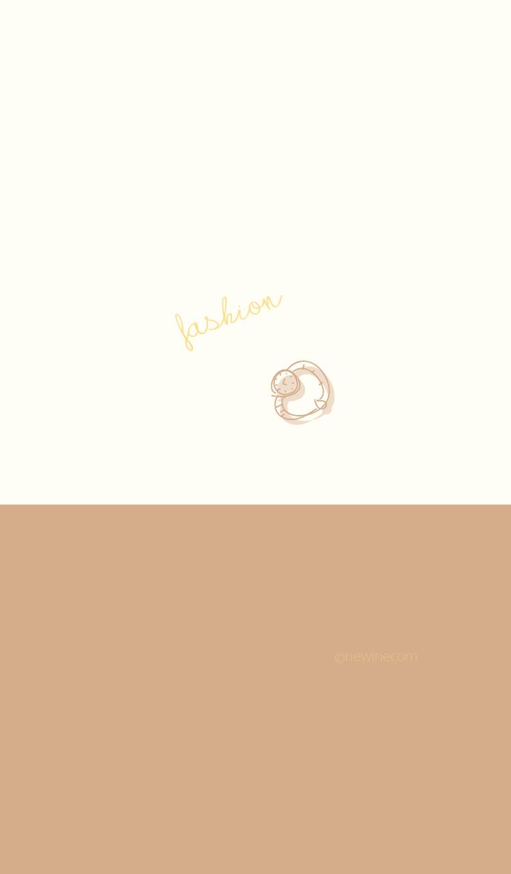 fashion gold beige