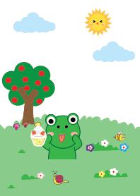 Simple Cute frog theme v.5