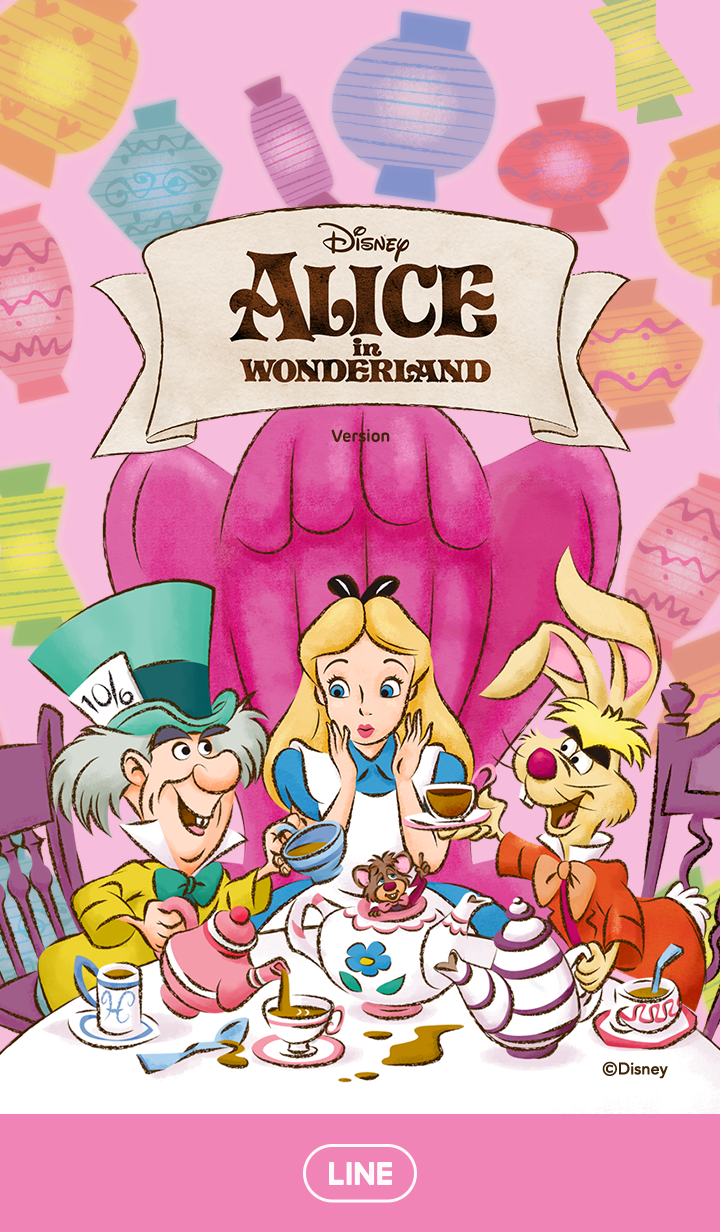 Alice in Wonderland (Tea Party)