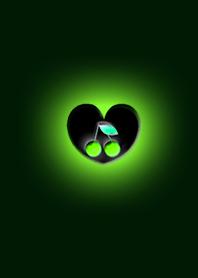 Green Dark Heart Cherry