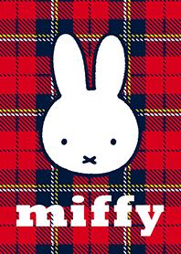 Miffy&格紋