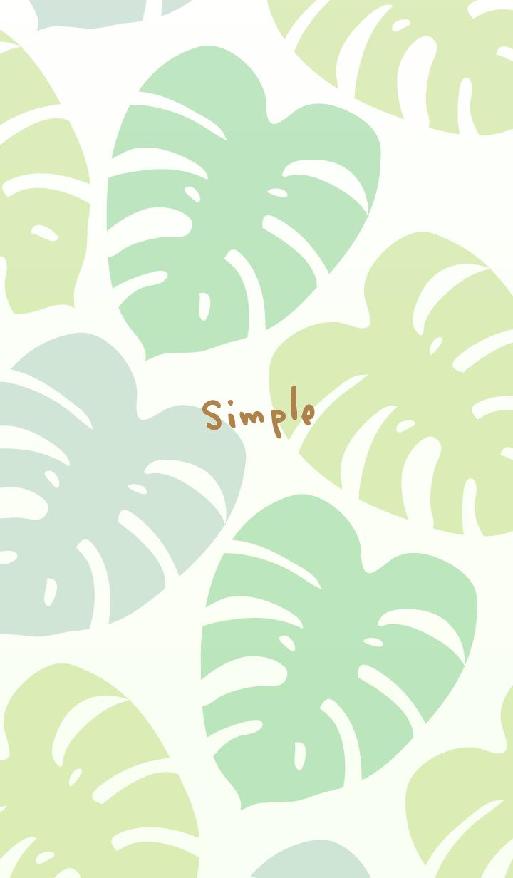 Simple Monstera19