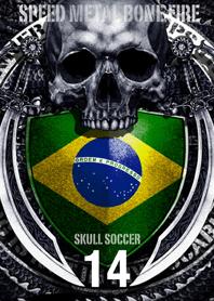 Pirates of skull Dragon Skull soccer 14
