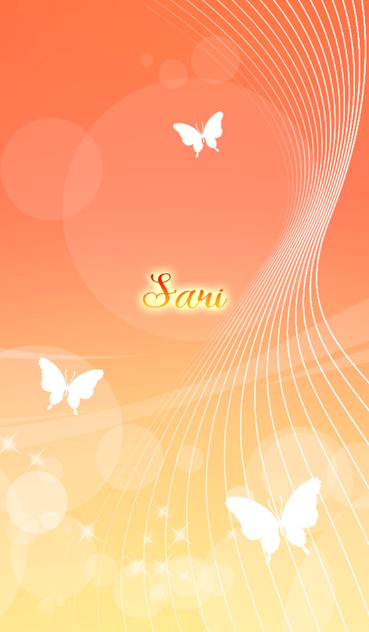 Sari butterfly theme