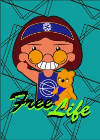 ธีมไลน์ Sama & Laya free life