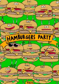 HAMBURGERS PARTY!