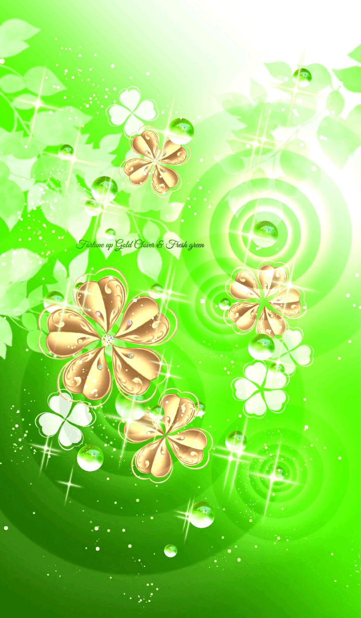 Fortune up Gold Clover & Fresh green
