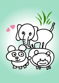 句點動物園(綠色)