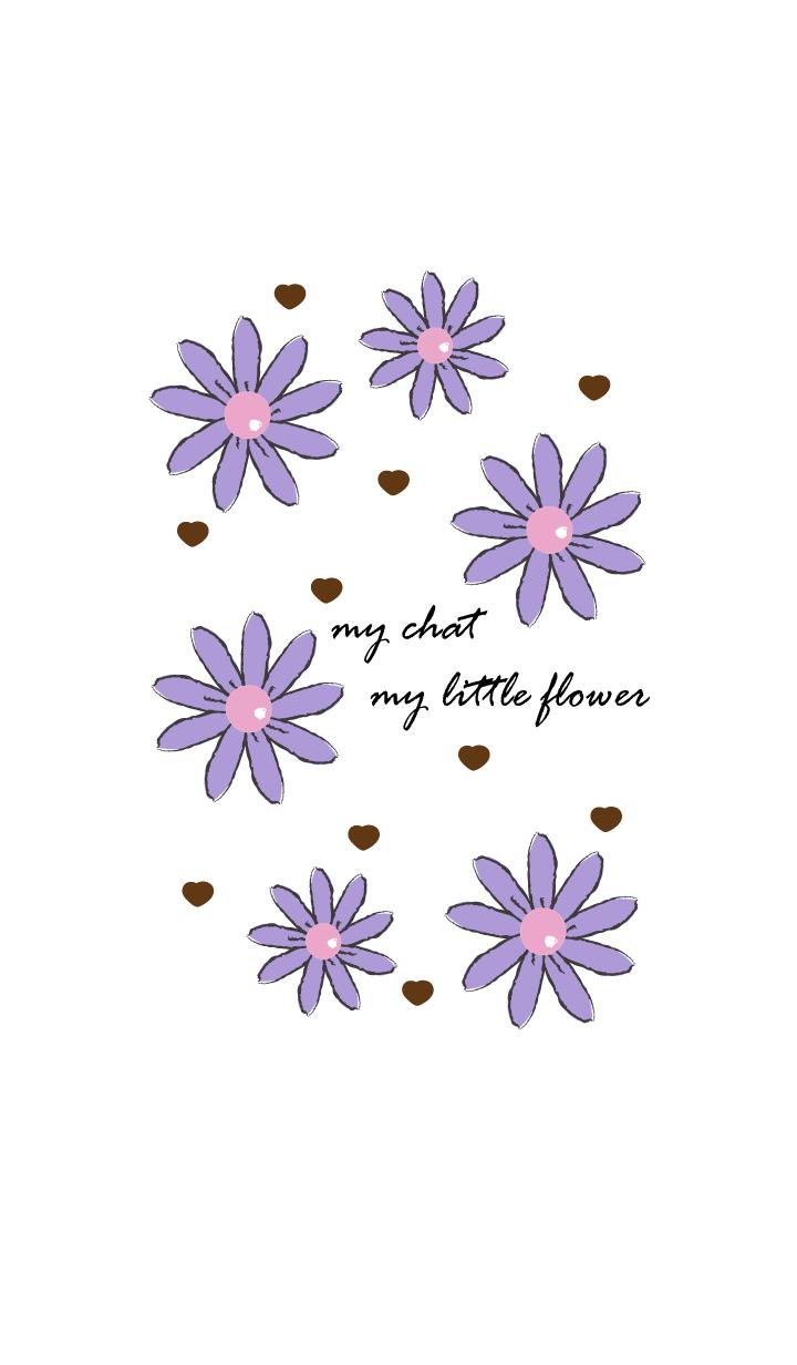 little flower in vintage style 40