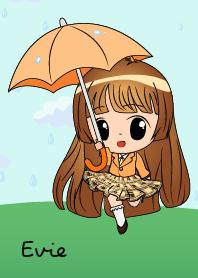 Evie Rainy Girl