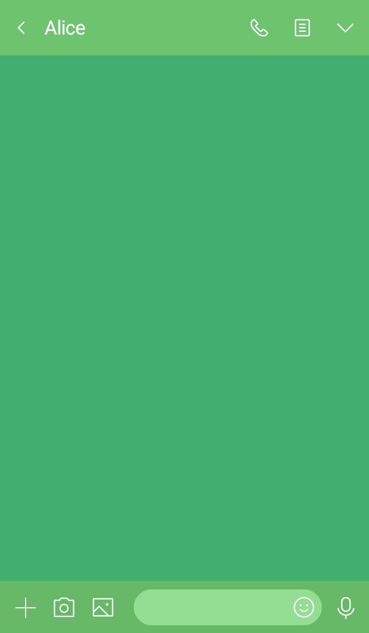 horse simple theme(green2)