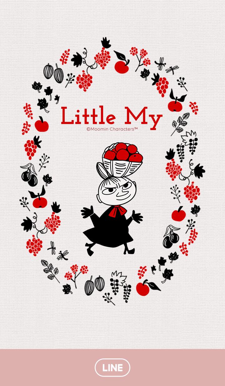 【主題】Little My 自然紅篇