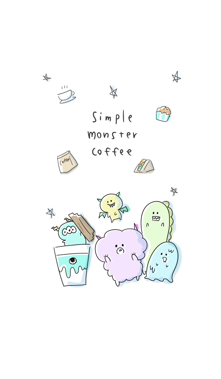 simple monster coffee.