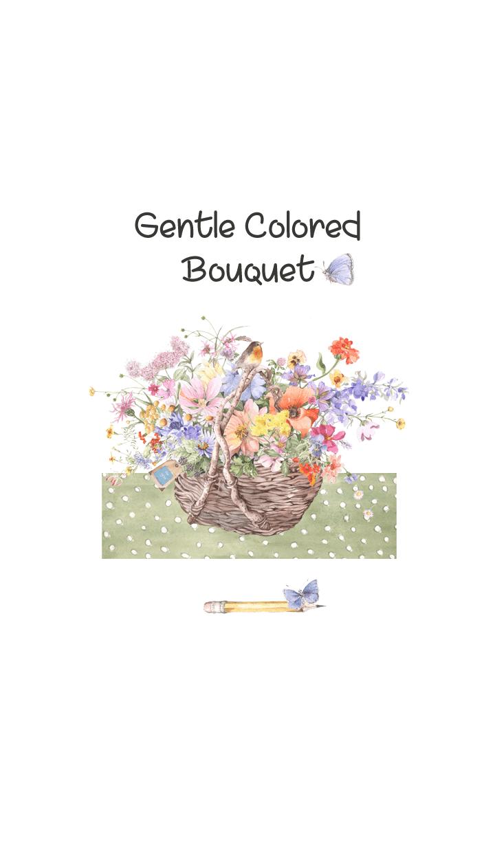 gentle colored bouquet 6