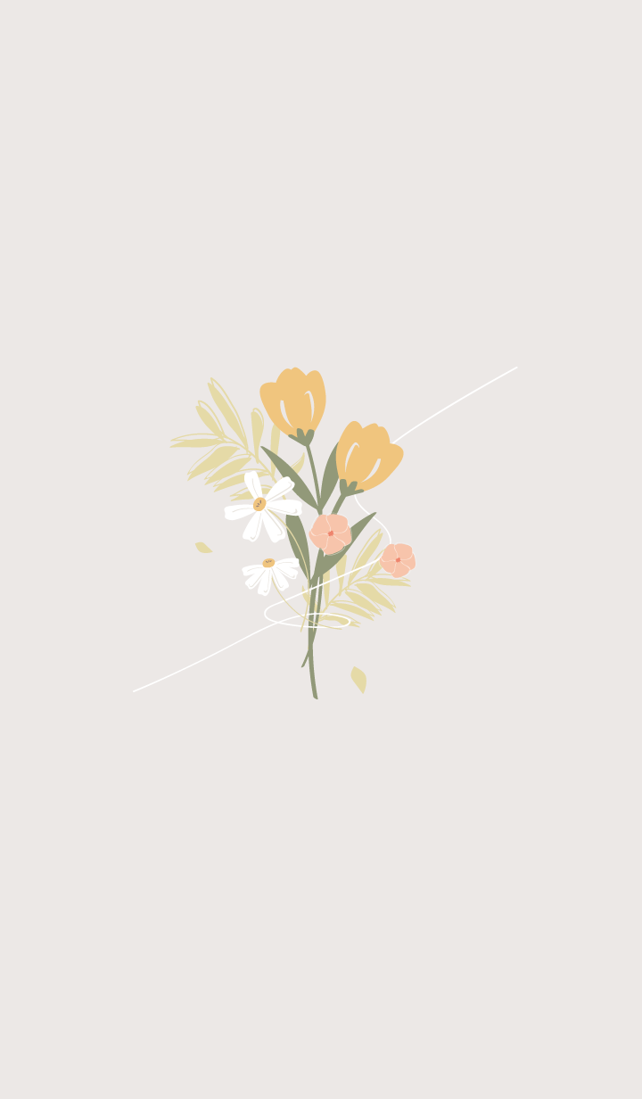 Simple flower world