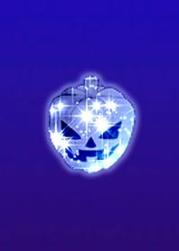 Blue light pumpkin