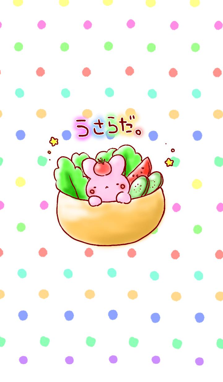 Rabbit salad(from japan)