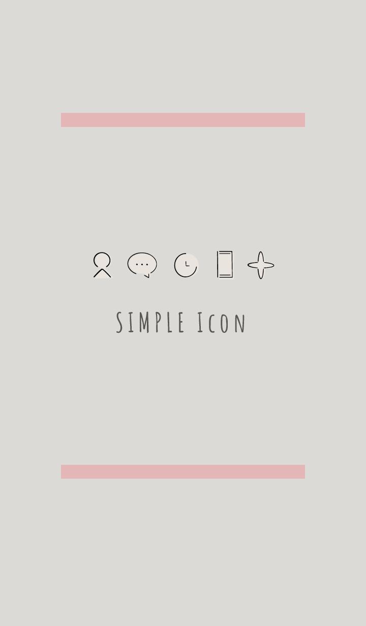 Beige Pink : Simple Theme