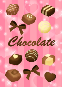 Valentine's chocolate Pink1