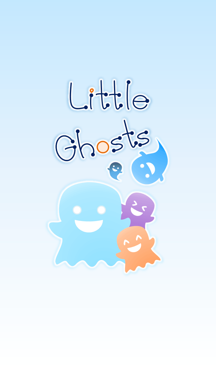 Little Ghosts (Blue Ver.5)