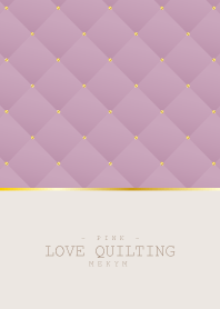 LOVE QUILTING PINK #2020