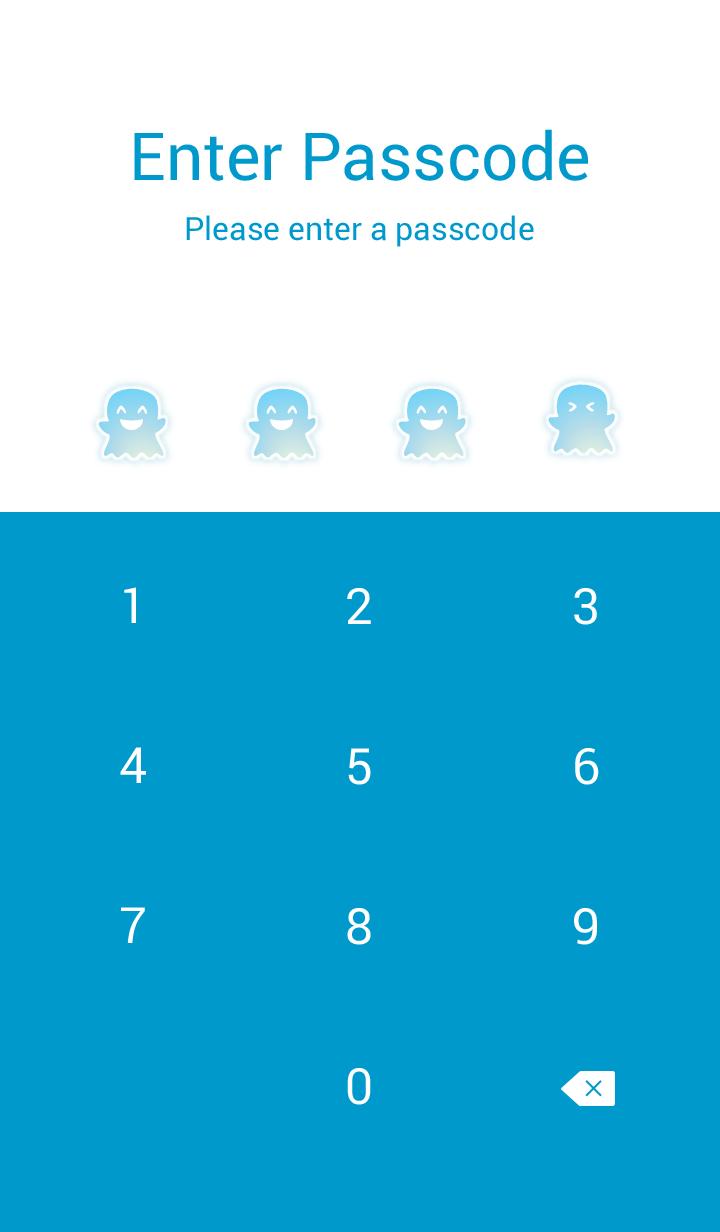 Little Ghosts! (Blue Ver.2)