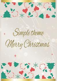 Beige และ Pink / Simple Christmas