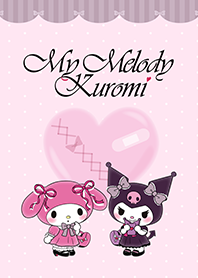 My Melody&酷洛米 粉藕色