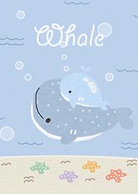 Happy Whale Blue Doo