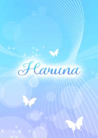 Haruna skyblue butterfly theme
