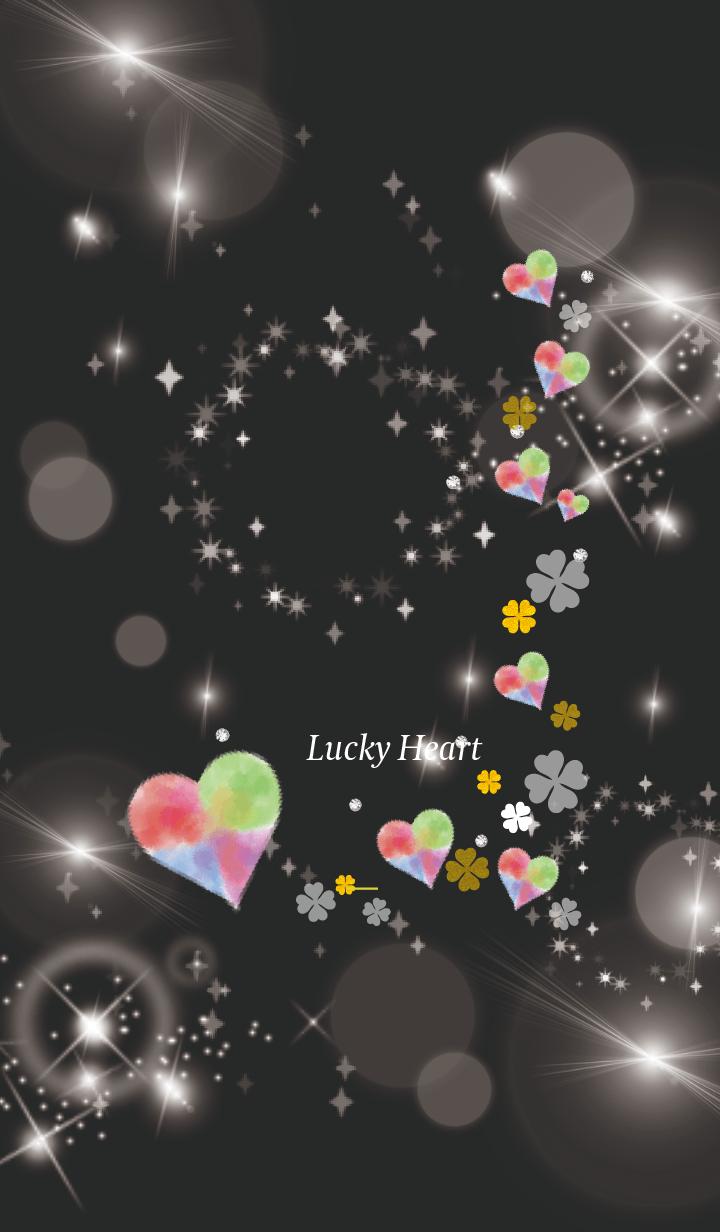 Black Yellow : Bright lucky heart