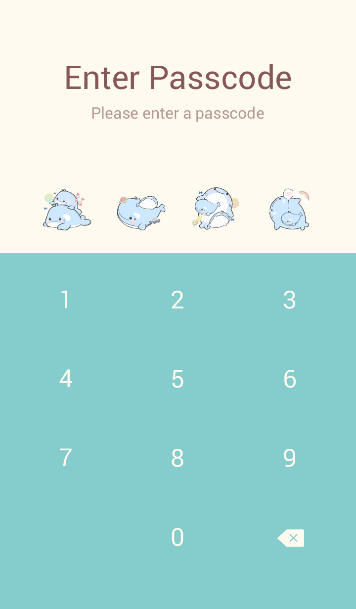 whale cutie (blue pink ver.)