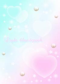 Light blue&pink pastel