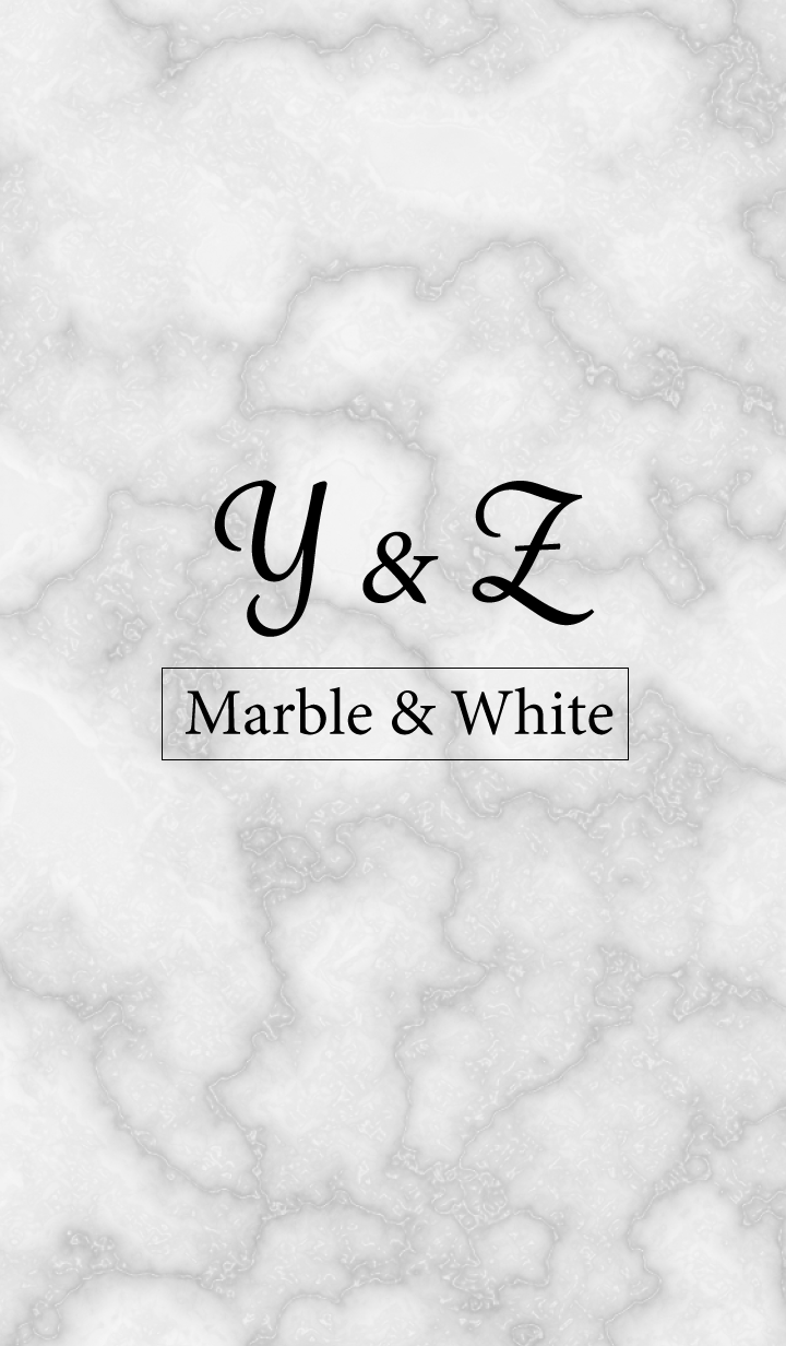 Y&Z-Marble&White-Initial