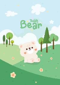 Teddy Bear The Hill White F...