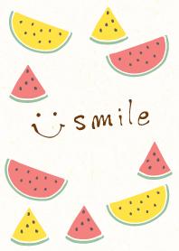 SUMMER Watermelon - smile 2-