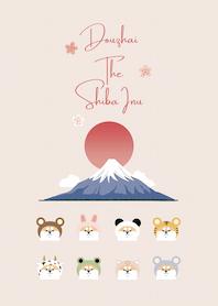ʕ•ᴥ•ʔ 柴犬抖宅 × 富士山