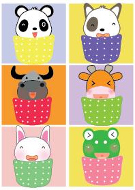 Cute animals theme v.3
