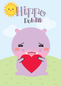 Lovely Hippo Duk Dik Theme 2