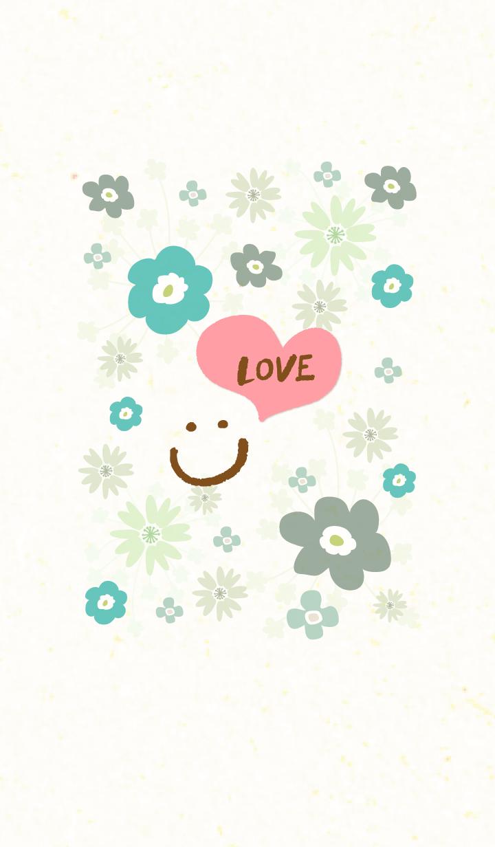 Northern Europe flower3 - smile6-