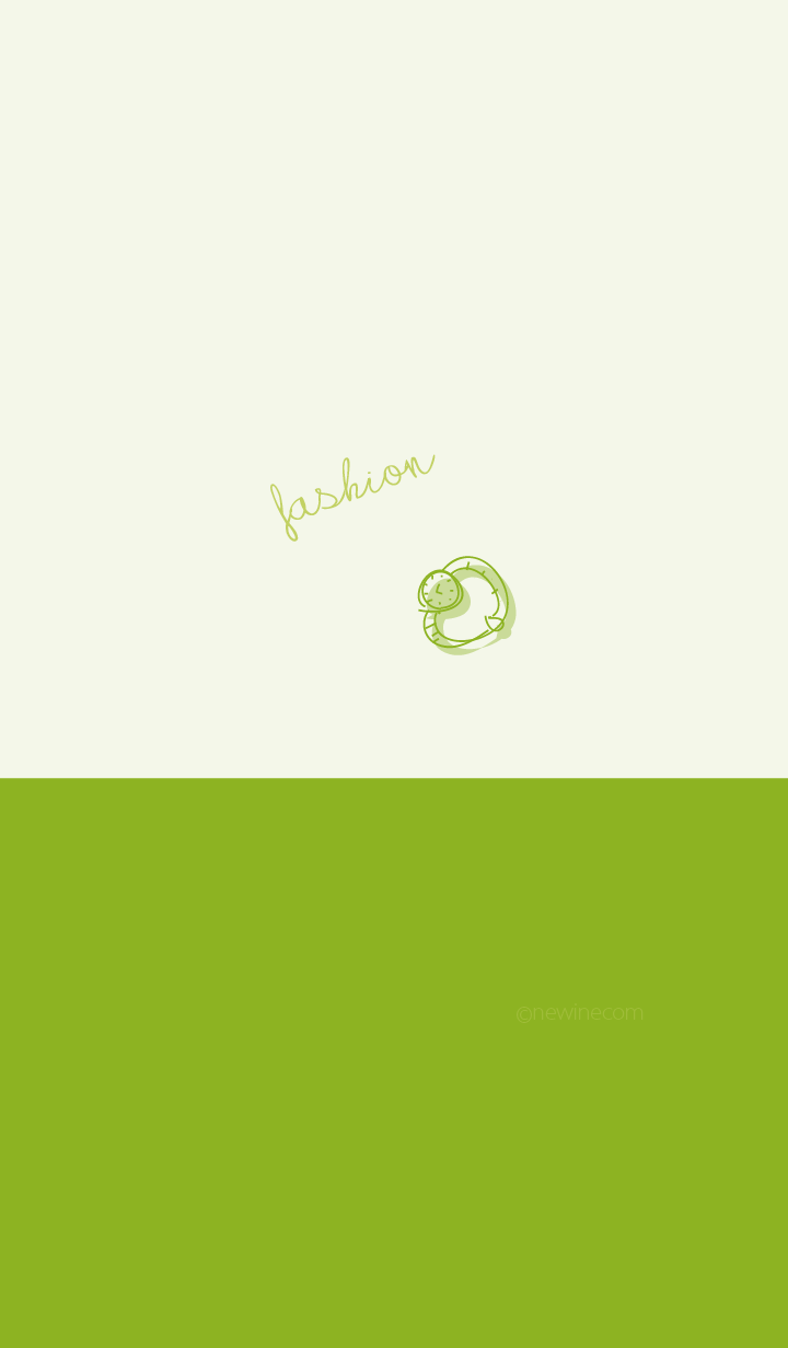 fashion leaf green