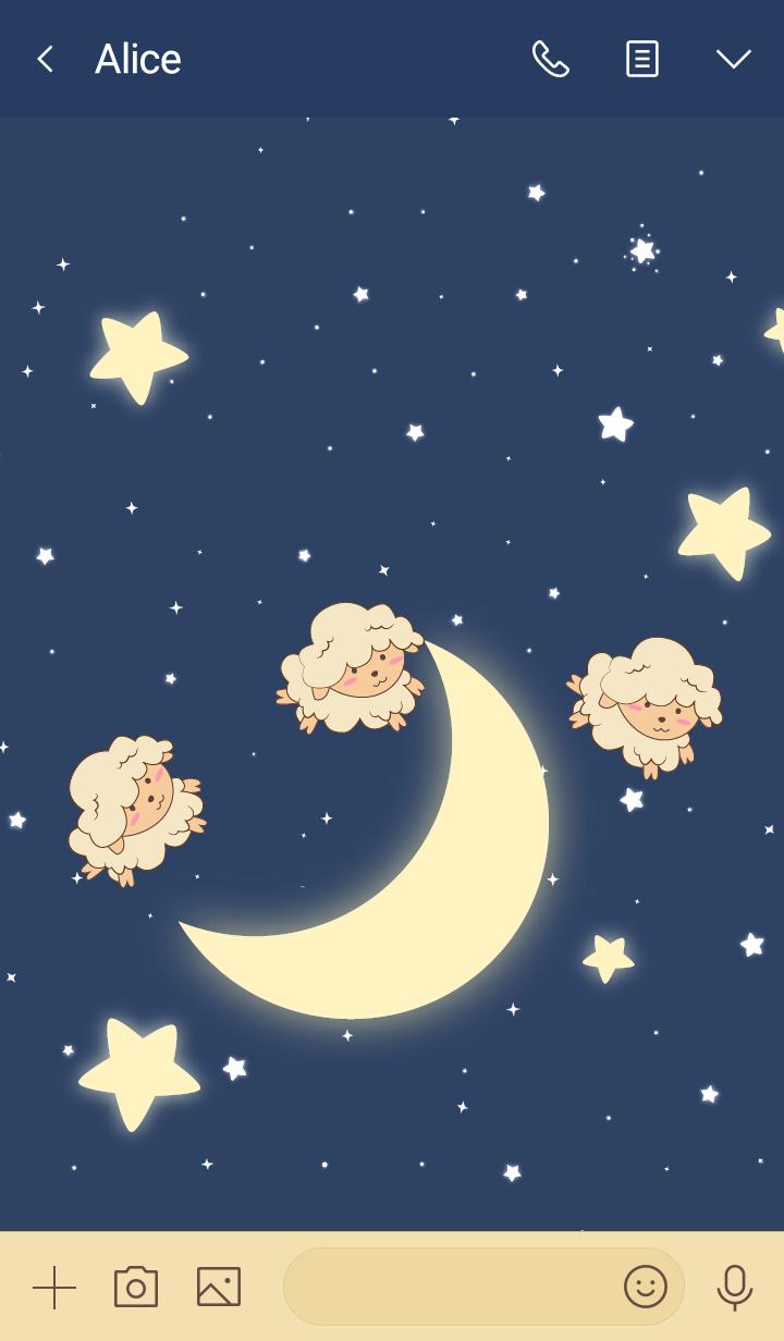 Counting Star Sheep
